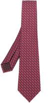 Bulgari micro printed tie - men - Silk - One Size