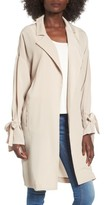 Lush Women's Tie Sleeve Jacket