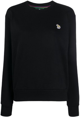 Paul Smith Embroidered Zebra Patch Jumper