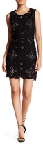 Ark & Co Studded Embroidered Dress