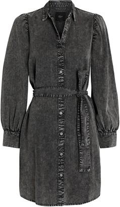 Rails Adele Chambray Puff Sleeve Dress