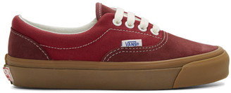 Vans Red OG Era LX Sneakers