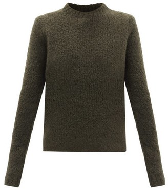 Gabriela Hearst Philippe Boucle-knit Cashmere-blend Sweater - Khaki