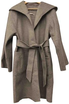 Max Mara Grey Cashmere Coat for Women