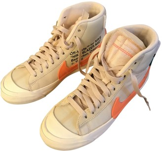 Nike x Off-White Blazer Mid Orange Cloth Trainers