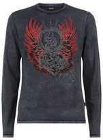 Just Cavalli Studded Wings T-shirt