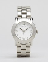 Marc Jacobs Amy Silver Watch MBM3054