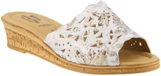 Spring Step Wedge Slide Sandals - Estella