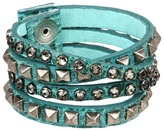 Leather Rock B340-F185 Bracelet