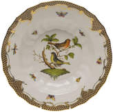 Herend Rothschild Bird Brown Motif 03 Rim Soup Bowl