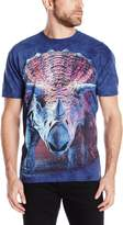 The Mountain Charging Triceratops T-Shirt, 3X-Large