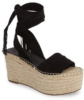 Marc Fisher Women's Marc Fischer Ltd Rabecca Lace-Up Platform Wedge