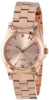 Haurex Italy Women's 7R505DDS Diamond-Accented Mini-City Rose Gold Watch