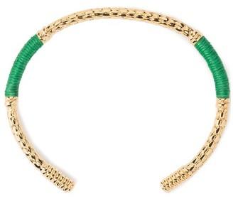 Aurelie Bidermann Soho emerald bracelet