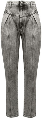 Chiara Ferragni High-Waisted Tapered Jeans