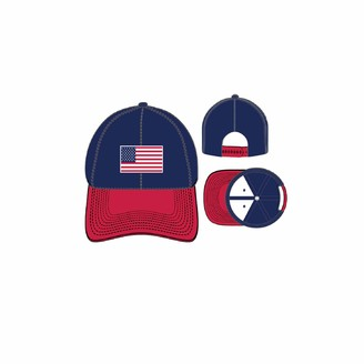 Concept One Men's American Flag Embroidered Patch SLIGHLY Curved Uncle Cap