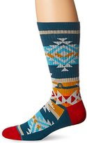 Stance Men's Table Mountain Tribal Arch Support Classic Crew Sock