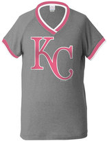 5th & Ocean Girls' Kansas City Royals Triple Flock T-Shirt