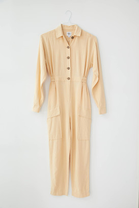 Urban Outfitters Everyday Linen Button-Down Coverall