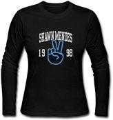 A99a91-a1 Long Sleeve-Women's Shawn Mendes 1998 Long Sleeve T Shirt Shirt.