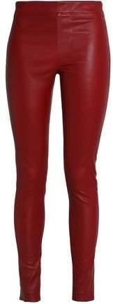 Helmut Lang Leather Leggings