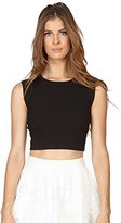Stella & Jamie Women's Jubilee Sleeveless Cropped Top