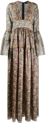 DSQUARED2 Catherine floral print dress