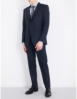 Tom Ford Windowpane Check Slim-fit Wool Suit