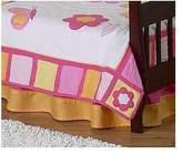 JoJo Designs Sweet Butterfly Toddler Bed Skirt