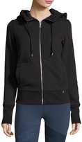 Lorna Jane Visionary Quilted Hoodie Sweater, Black