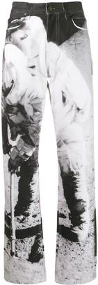 Calvin Klein Jeans Est. 1978 high rise Moon Landing jeans