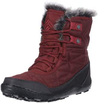 Columbia Women's Minx Shorty III Santa FE Ankle Boot deep Rust Marsala red 8 Regular US