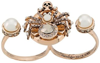 Alexander McQueen Spider Double Ring