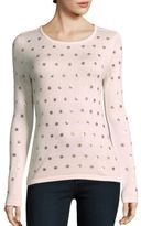 Saks Fifth Avenue Dot Sequin Sweater
