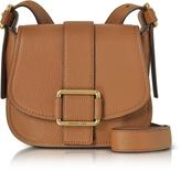 Michael Kors Maxine Medium Leather Saddle Bag