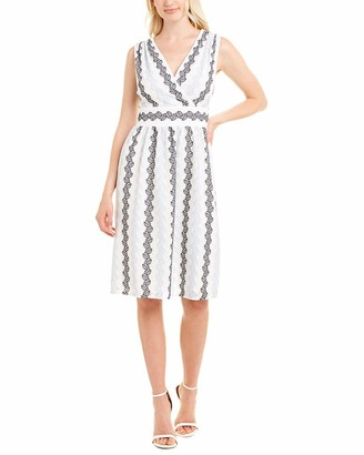 Maggy London Women's Soft Surplus Crossover Dress
