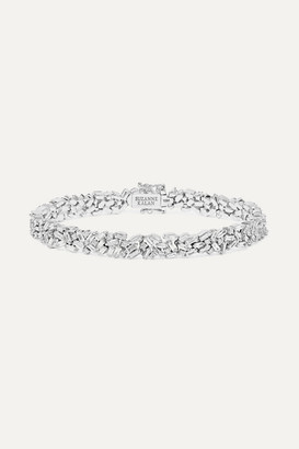 Suzanne Kalan 18-karat White Gold Diamond Bracelet - one size