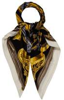 Hermes Etriers Cashmere & Silk Shawl