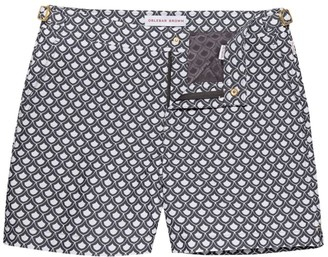 Orlebar Brown Bulldog x Fishscale Swim Trunks