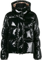 Moncler feather down shiny puffer jacket