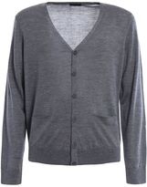 Z Zegna Lightweight Wool Buttoned Cardigan