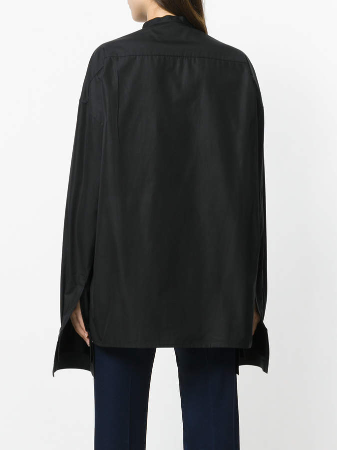 Haider Ackermann concealed placket top