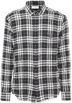 Saint Laurent Signature Oversized Yves Collar Shirt