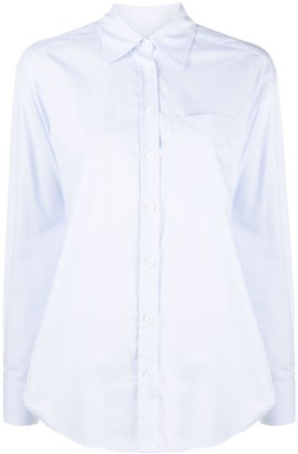 Zadig & Voltaire Tais cut-out back shirt