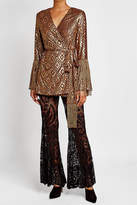 Anna Sui Lace Flares