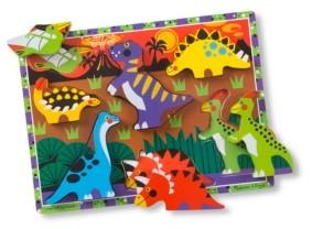 Melissa & Doug Dinosaurs Chunky Puzzle - Dinosaur Toy
