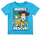 "Toy Story Toddler Boys' Heroes To The Rescue"" T-Shirt - Turquoise"