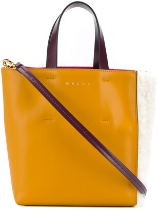Marni Sherling Panelled Tote Bag