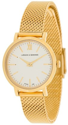 Larsson & Jennings LJXII round-face watch