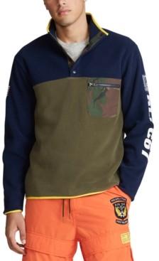 Polo Ralph Lauren Men's Big & Tall Color Blocked Pullover
